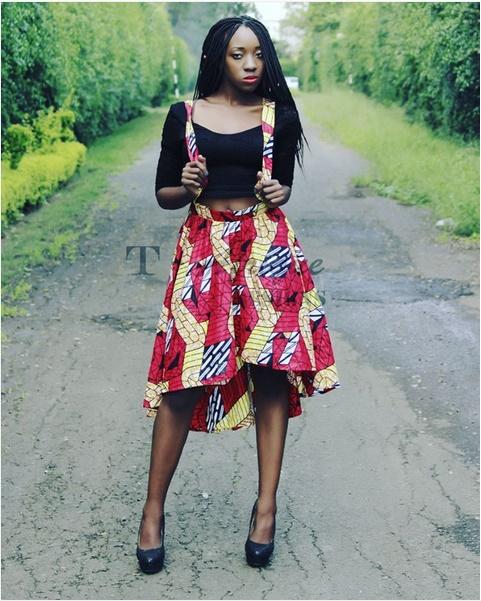 Wpid Ankara Skirt Style Fashion Police Nigeria Mistasilver 39 S Blog