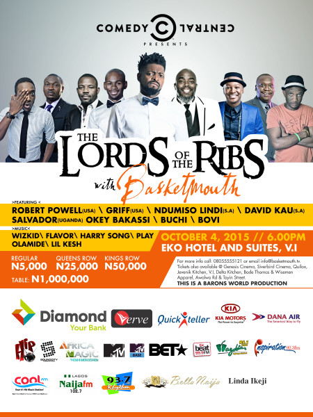 783849c10b Basketmouth comes up with  The Lord of the Ribs  once more